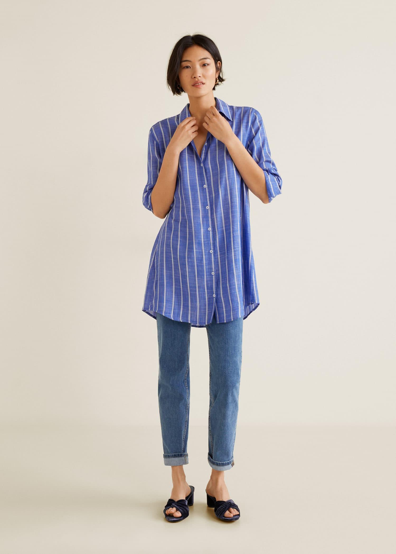 2019 Chemises Femme Mango Pour U6aqqnzx France dsrhtQ