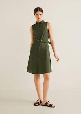 a6fe0d5475 Sukienka koszulowa midi - Plan ogólny