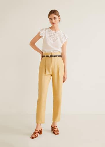 a615a4011 Camisas de Mujer 2019 | Mango España