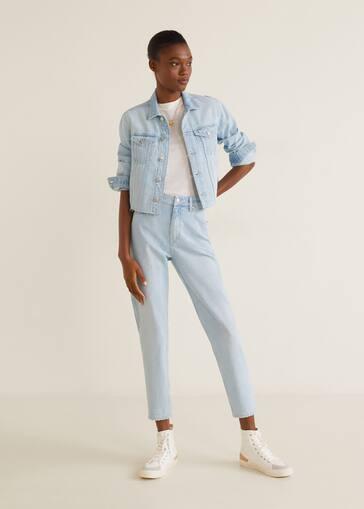 f7da2a97f7 Jeans slim Mom - Plano general