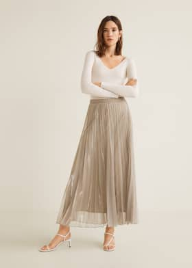58e4a76d5 Midi - Skirts for Woman 2019 | Mango Greece