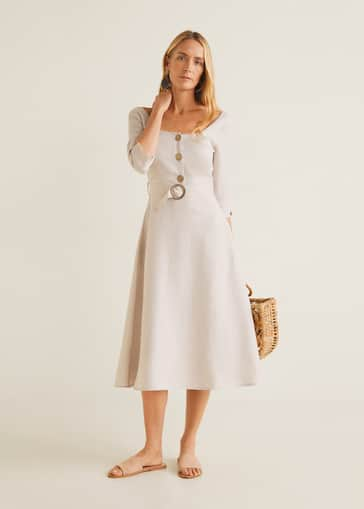 12038824 Midi - Dresses for Women 2019 | Mango United Kingdom