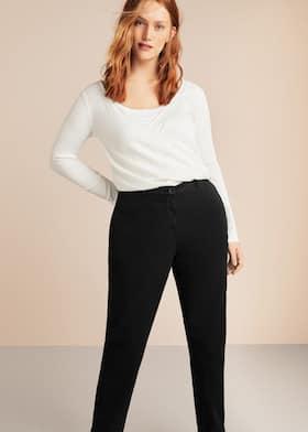 6d2e0ebbc3c4 Pantalon droit coton - Plan général