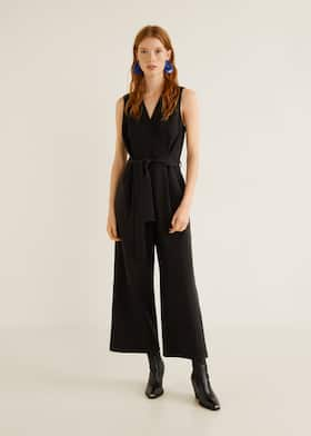 bfd8127a73f Bow long jumpsuit - General plane