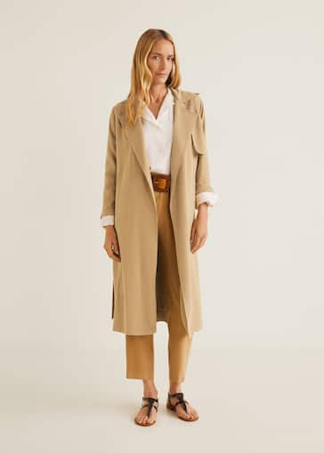 ccf7c89256 Classic trench with bows