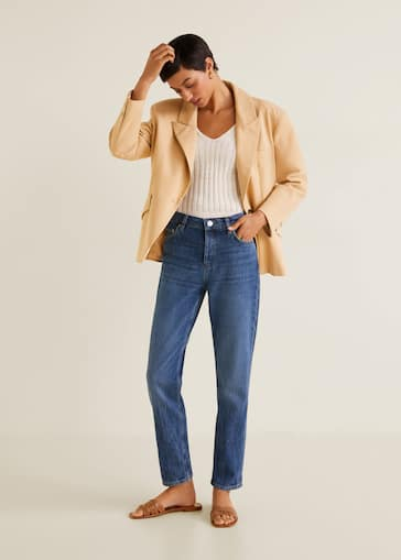 45461cef808457 Jeans for Woman 2019 | Mango Canada