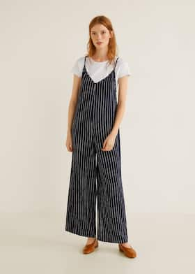 a29623db13 Striped long jumpsuit - General plane