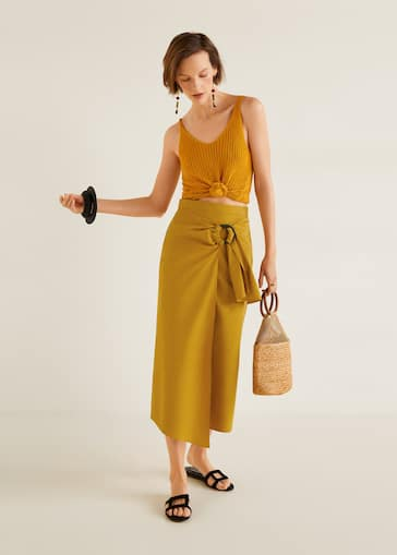 21b55be15 Midi - Skirts for Woman 2019 | Mango Singapore