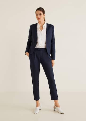 b75e7ab7707 Suits for Women 2019   Mango United Kingdom