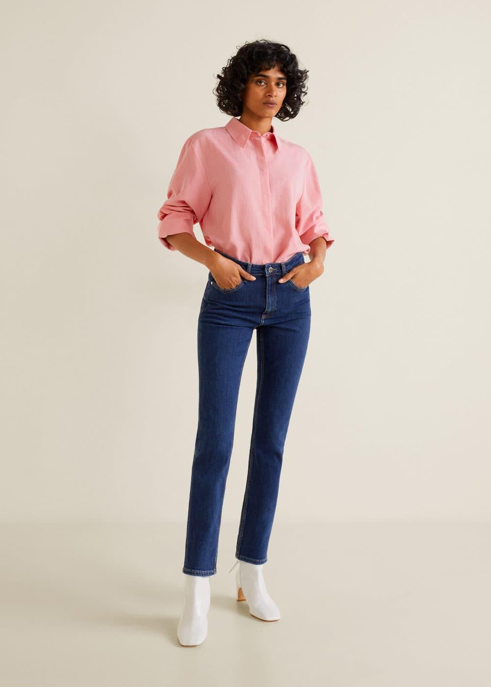 Mango - Straight jeans Anna - 2