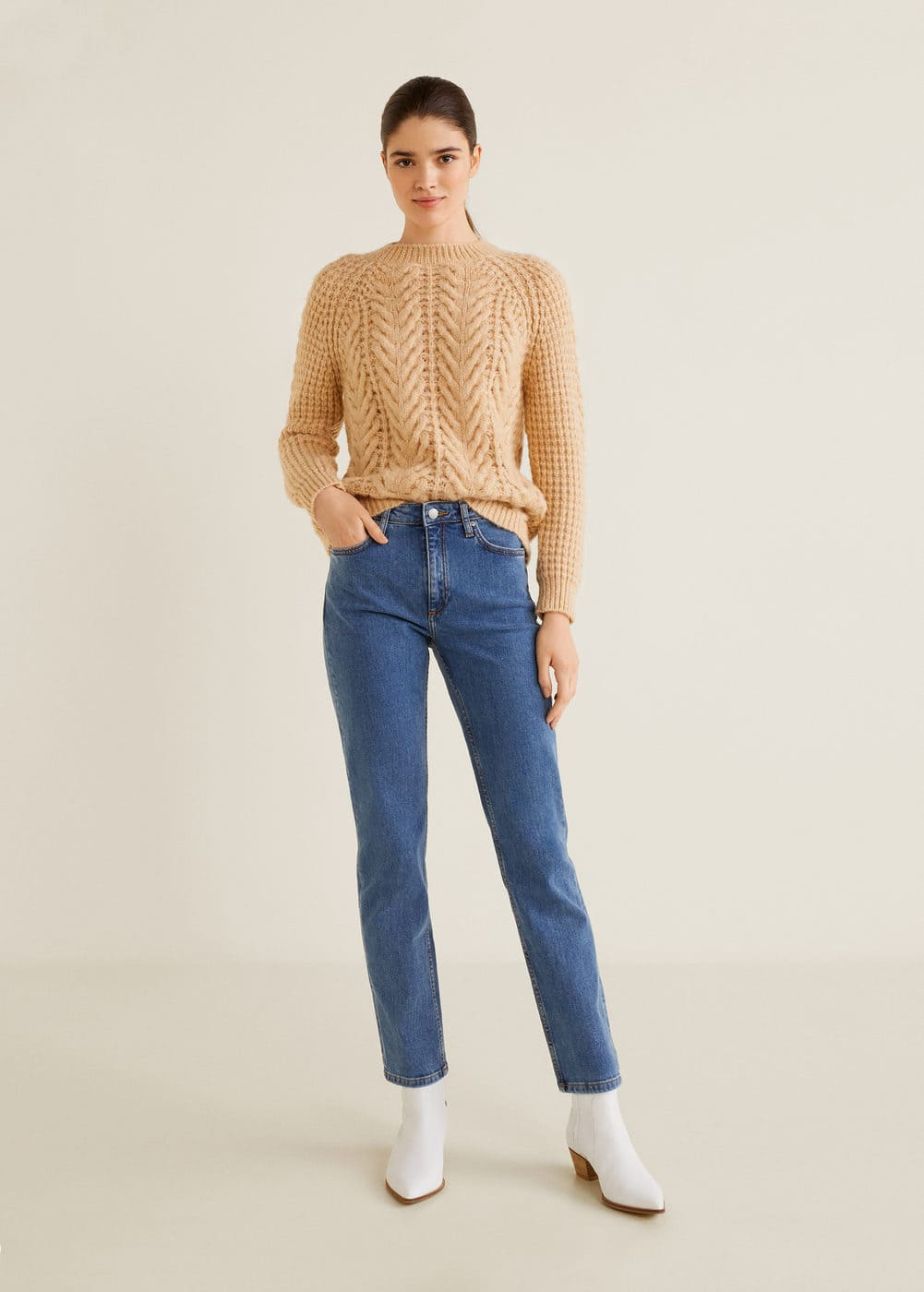 Mango - Jeans straight Anna - 2