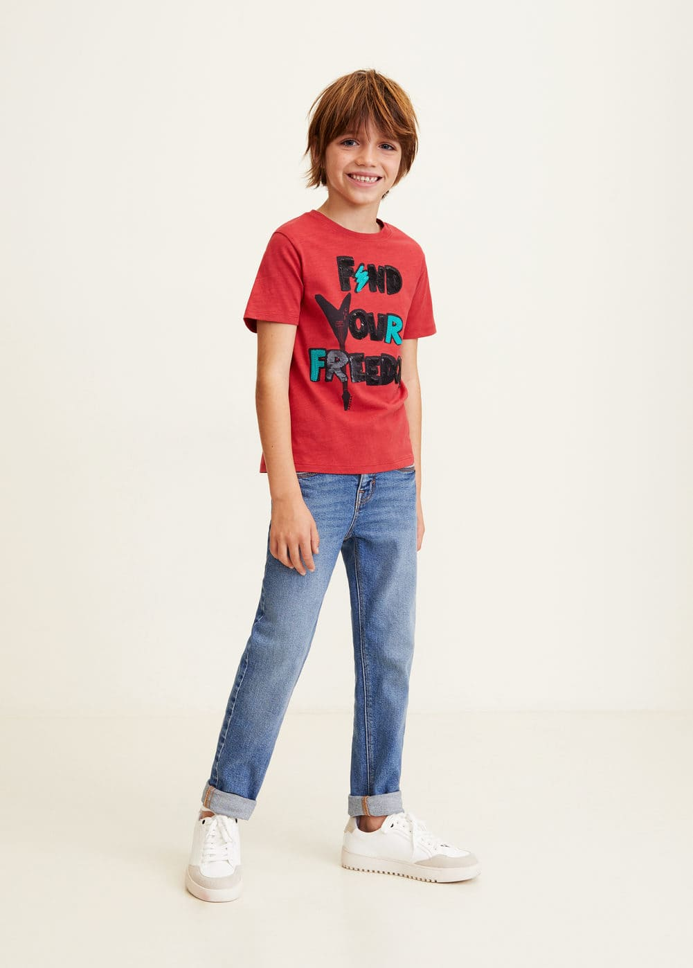 Mango - Camiseta lentejuelas reversibles - 2