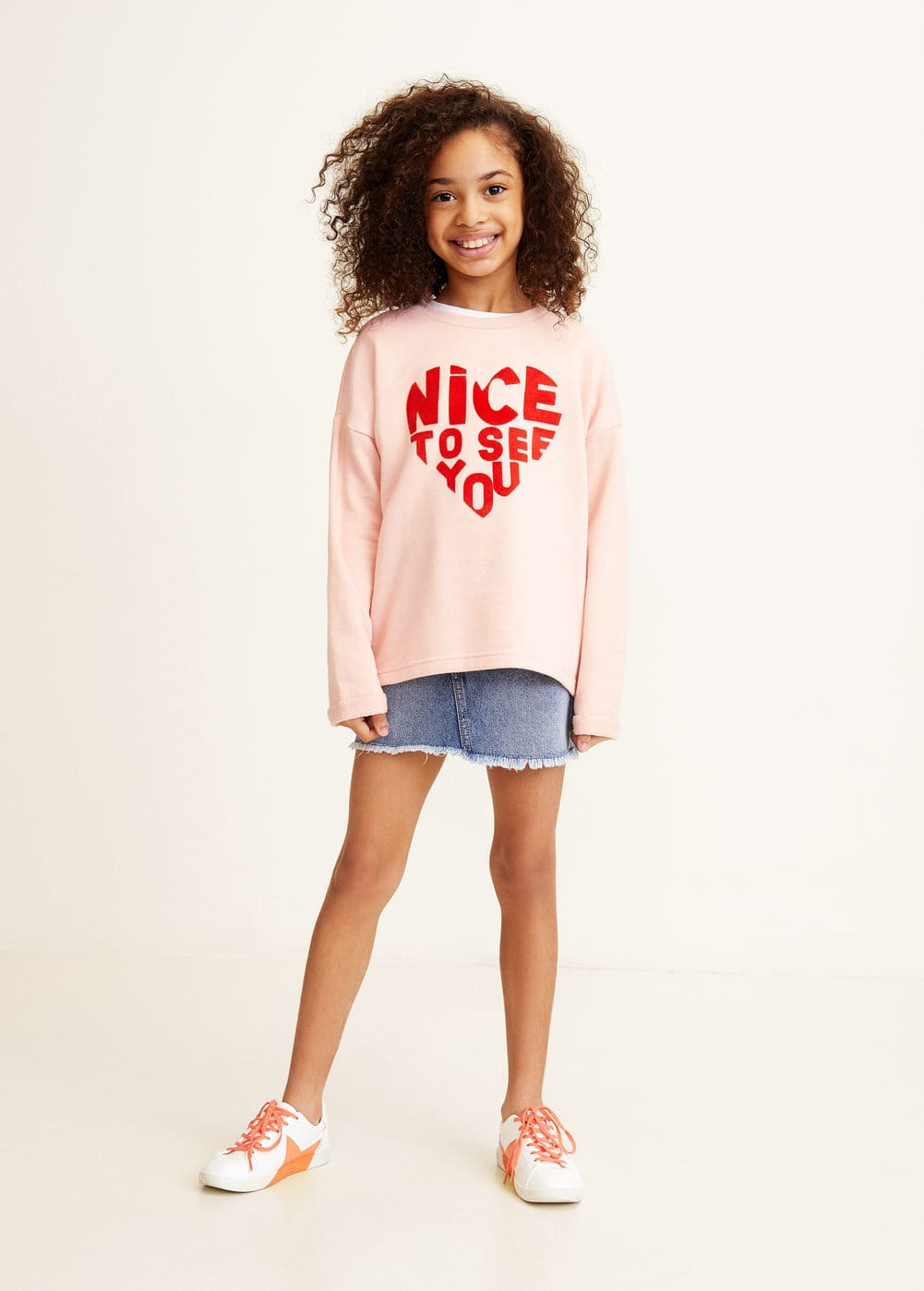 Mango - Cotton-blend printed sweatshirt - 2