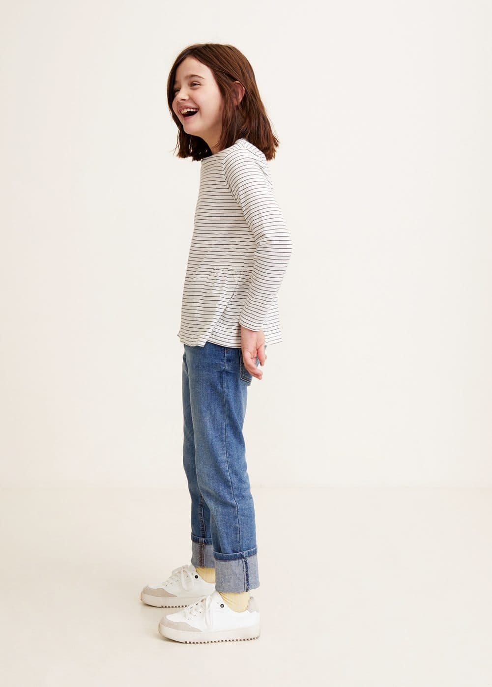 Mango - T-shirt coton à rayures - 2