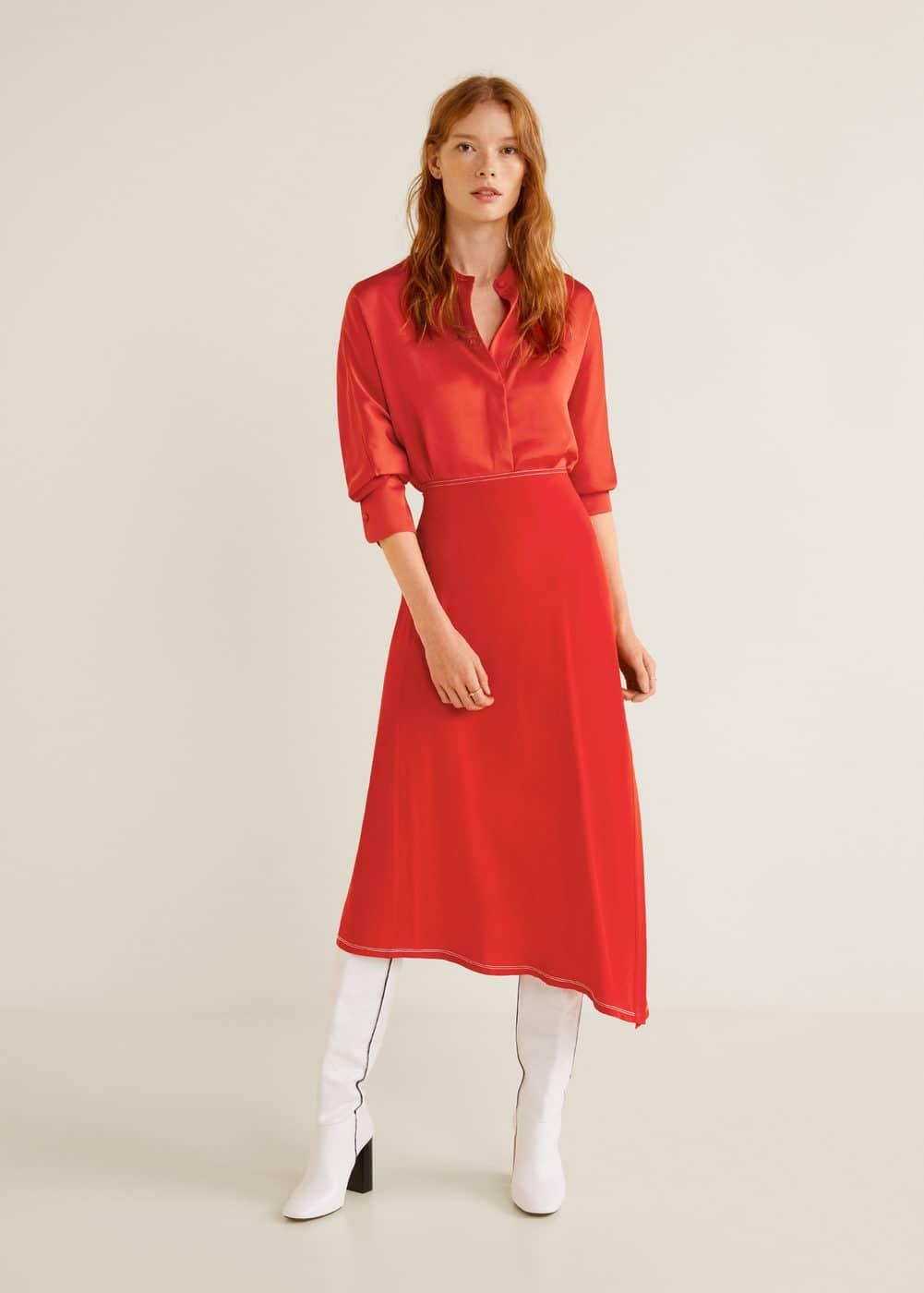 Mango - Satin blouse - 2