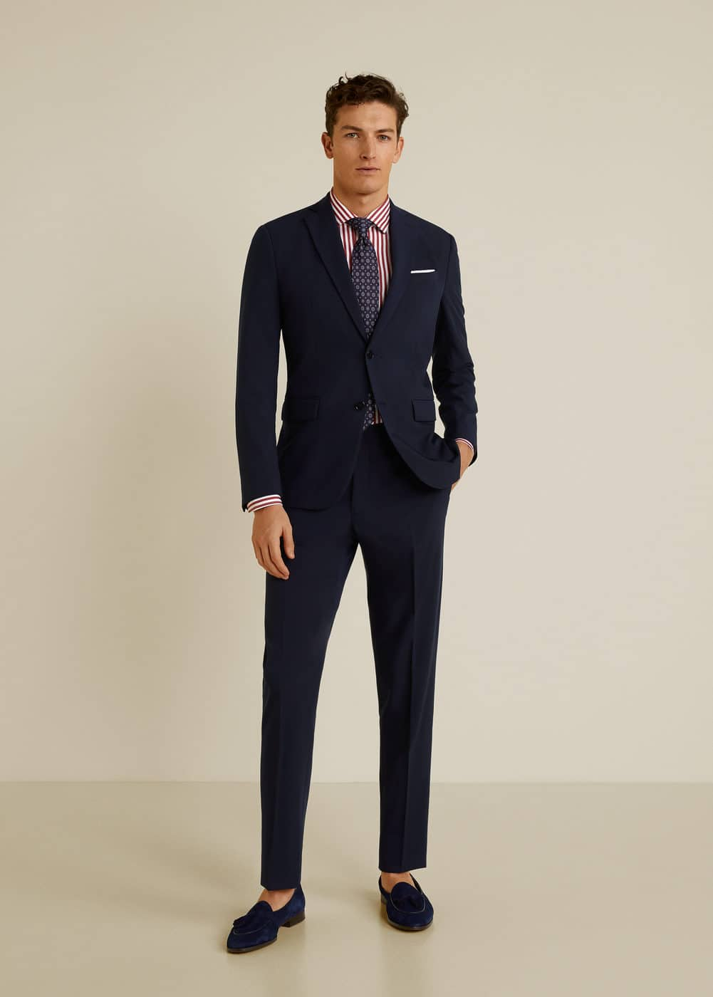 Mango - Slim Fit Tailored-Hemd, Baumwolle - 2