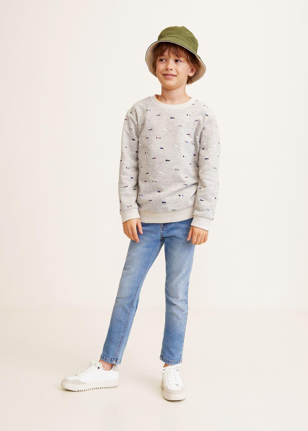 Mango - Printed cotton sweatshirt - 2