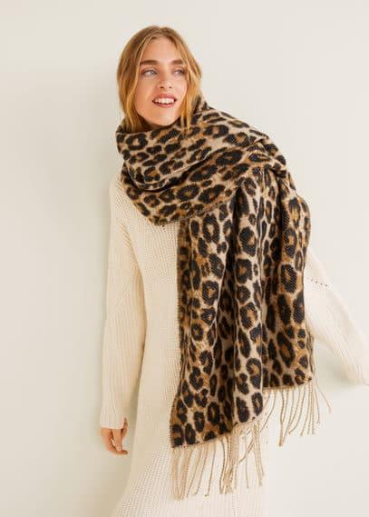 Леопардовый шарф  - Leop