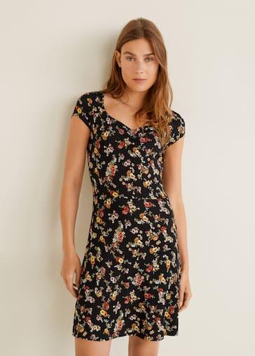 6140de53d1 Vestido estampado floral - Detalle del artículo 2