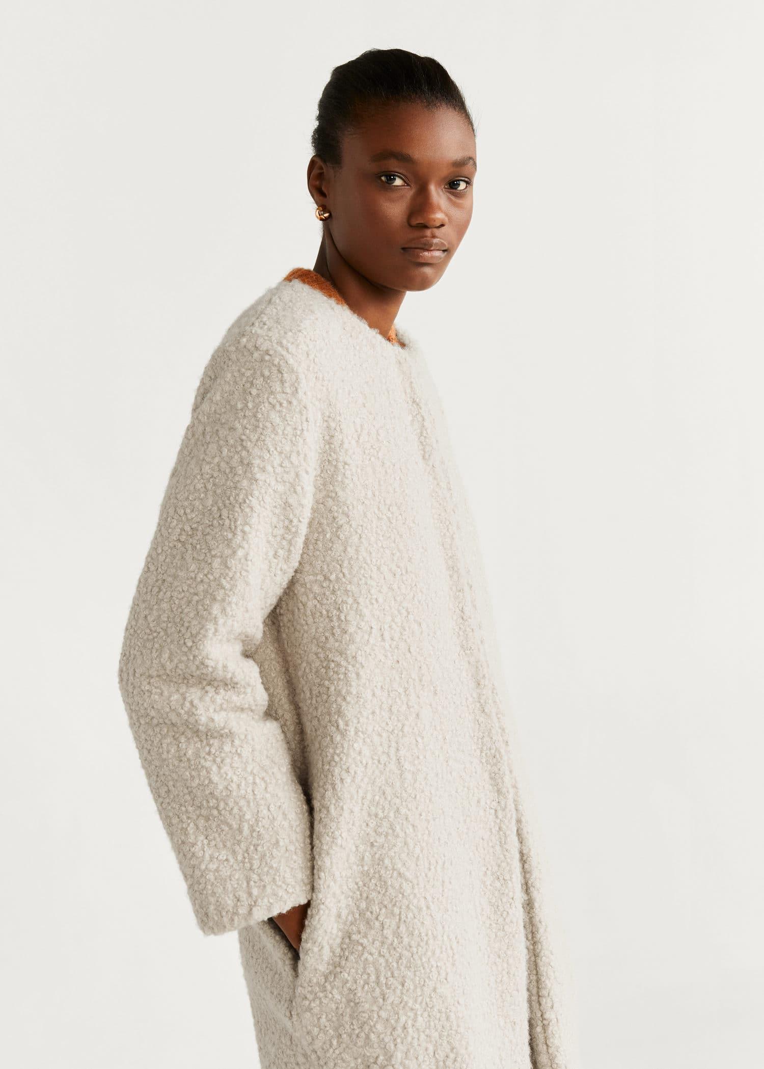 le dernier bd7d3 8d8c8 Manteau imitation mouton