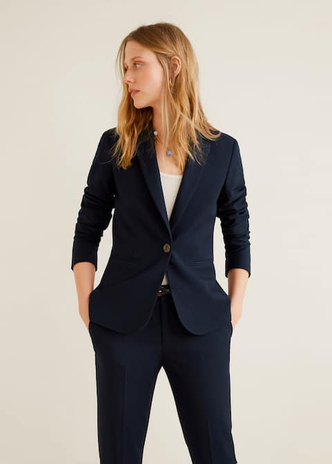 outlet store 76549 8618b Essential structured blazer
