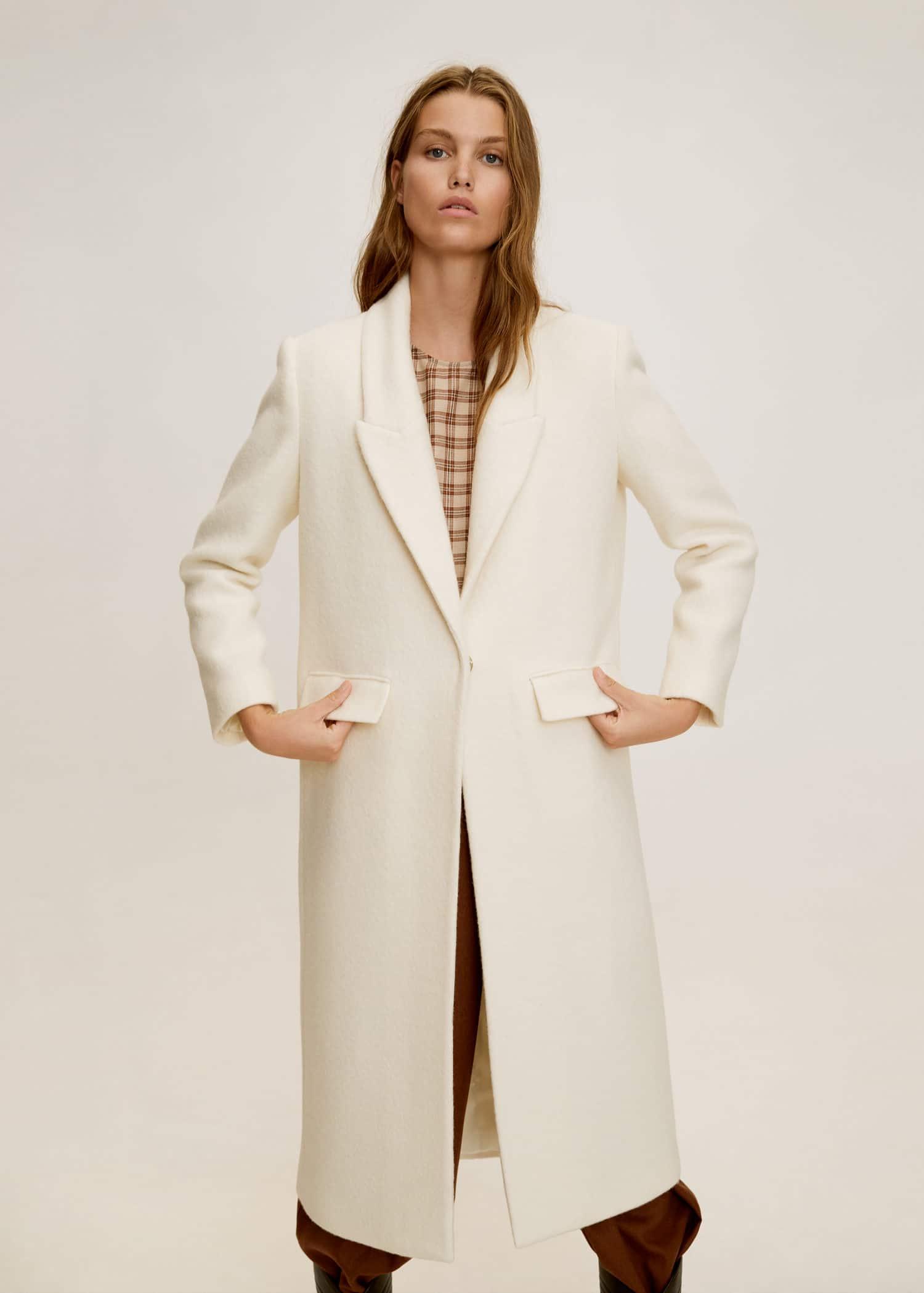 Manteau pour femme agee
