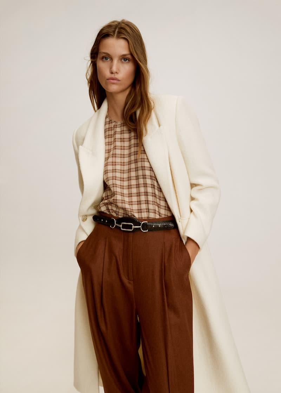 vente chaude en ligne 77a3e eac83 Manteaux pour Femme 2018 | MANGO Belgique