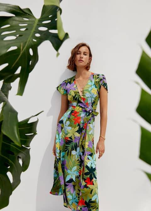 Tropical cross dress