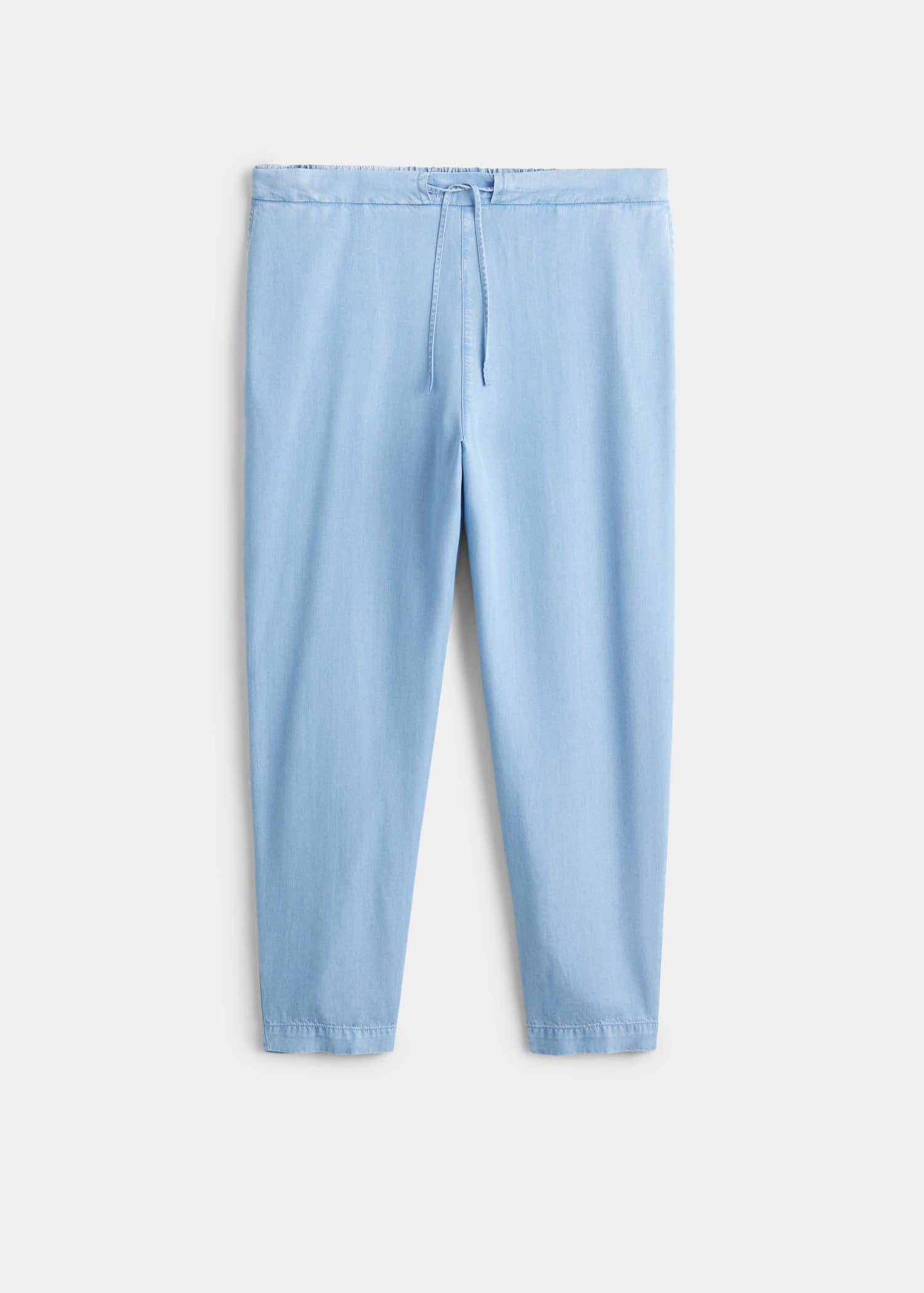 Baggy bukse med striper Store størrelser | OUTLET Norge
