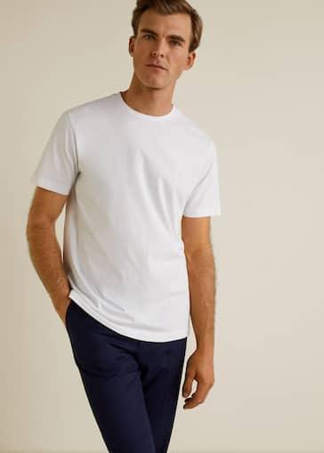 2eeb3ab81 Camiseta básica algodón - Plano medio
