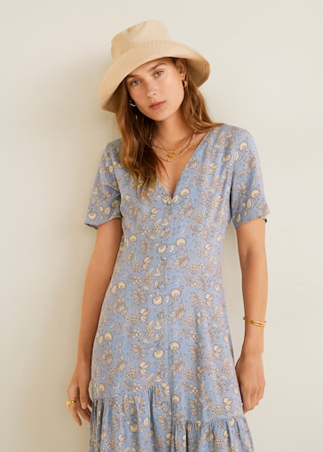 88cde9c6ad88 Floral print dress - Details of the article 2