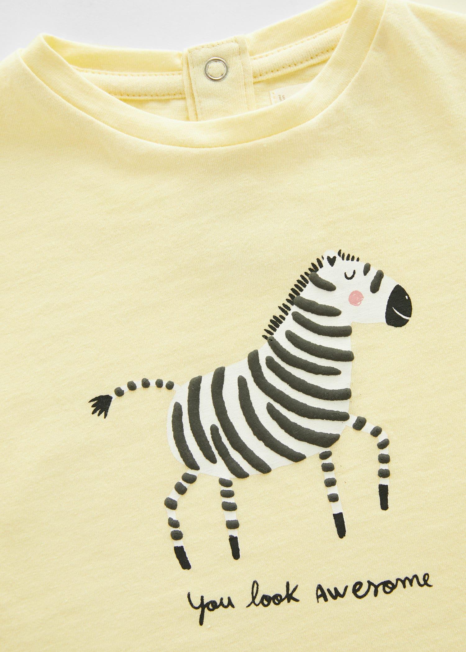 Mango Jas met zebraprint