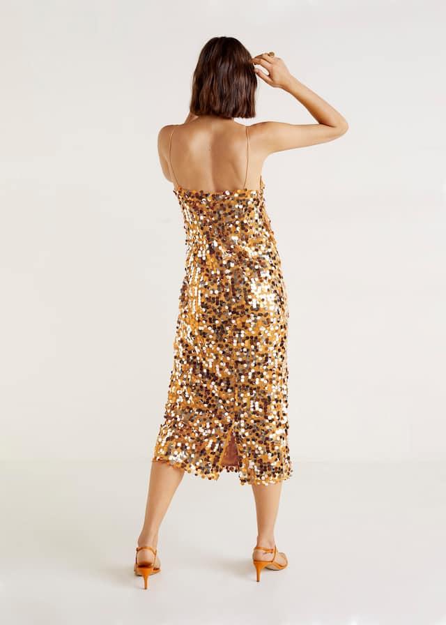 Sequined midi dress