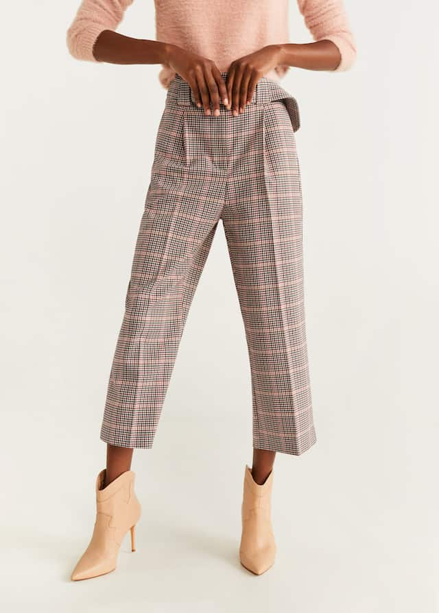 Houndstooth trousers - Medium top