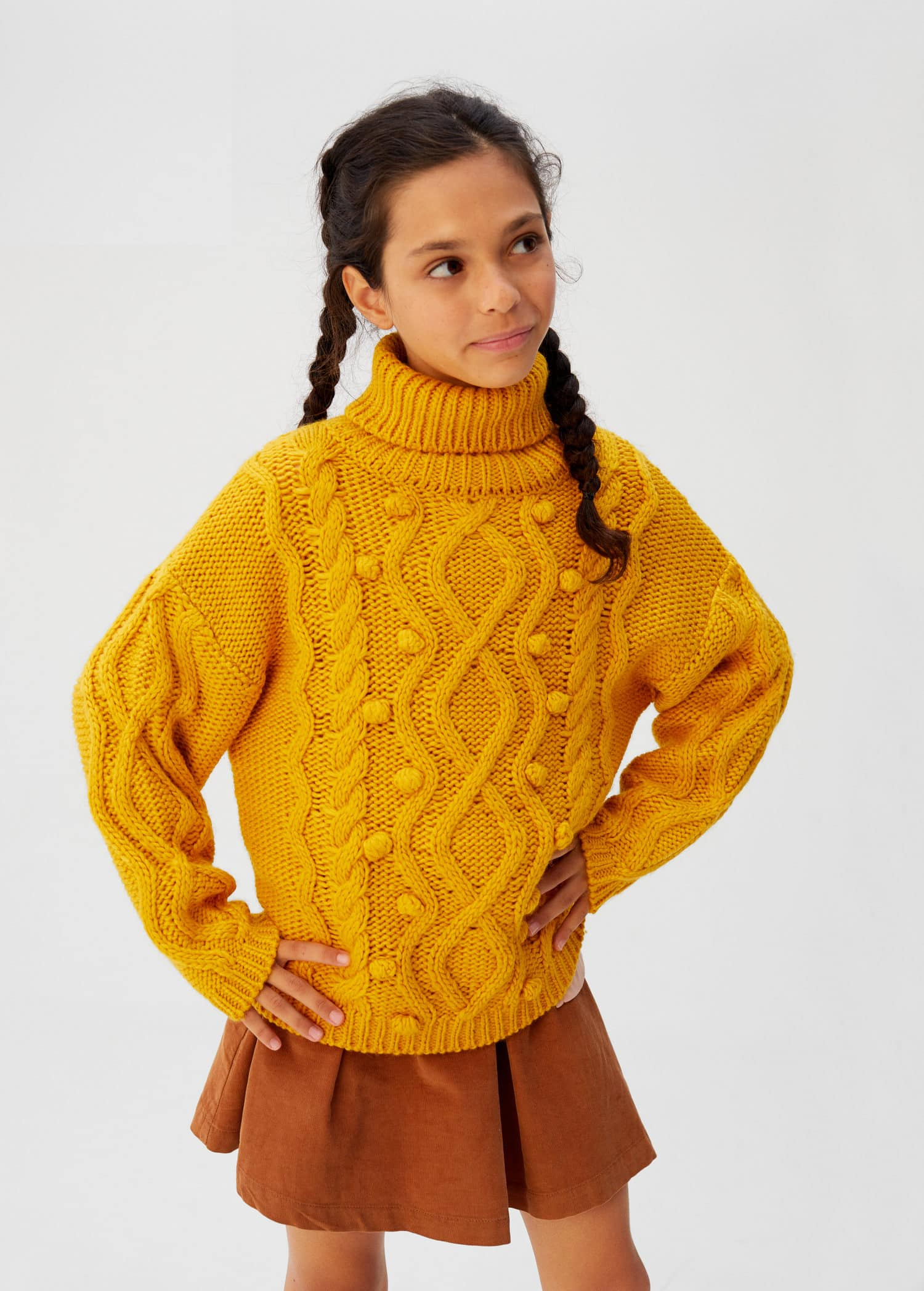 no sale tax shades of super cute Embossed contrasting knit sweater - Girls   Mango Kids Vietnam