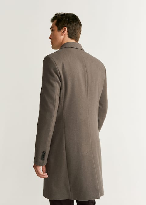 41799aa24f Double-breasted wool Tailored coat