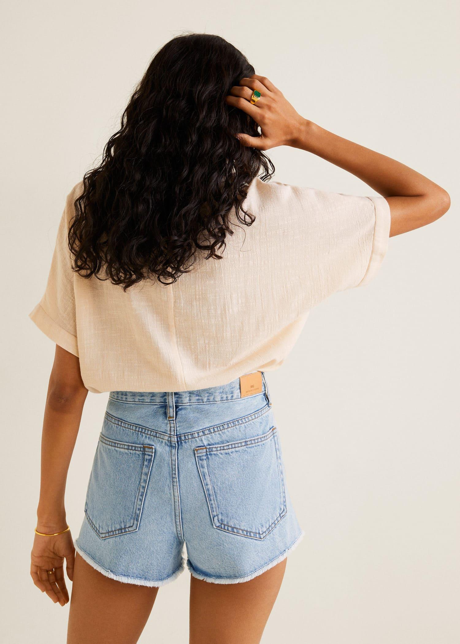 00e9c9901e77 Shorts de Mujer 2019 | Mango España
