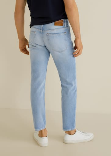 Bevorzugt Tapered-fit soft jeans - Man | Mango Man Bahrain IM69
