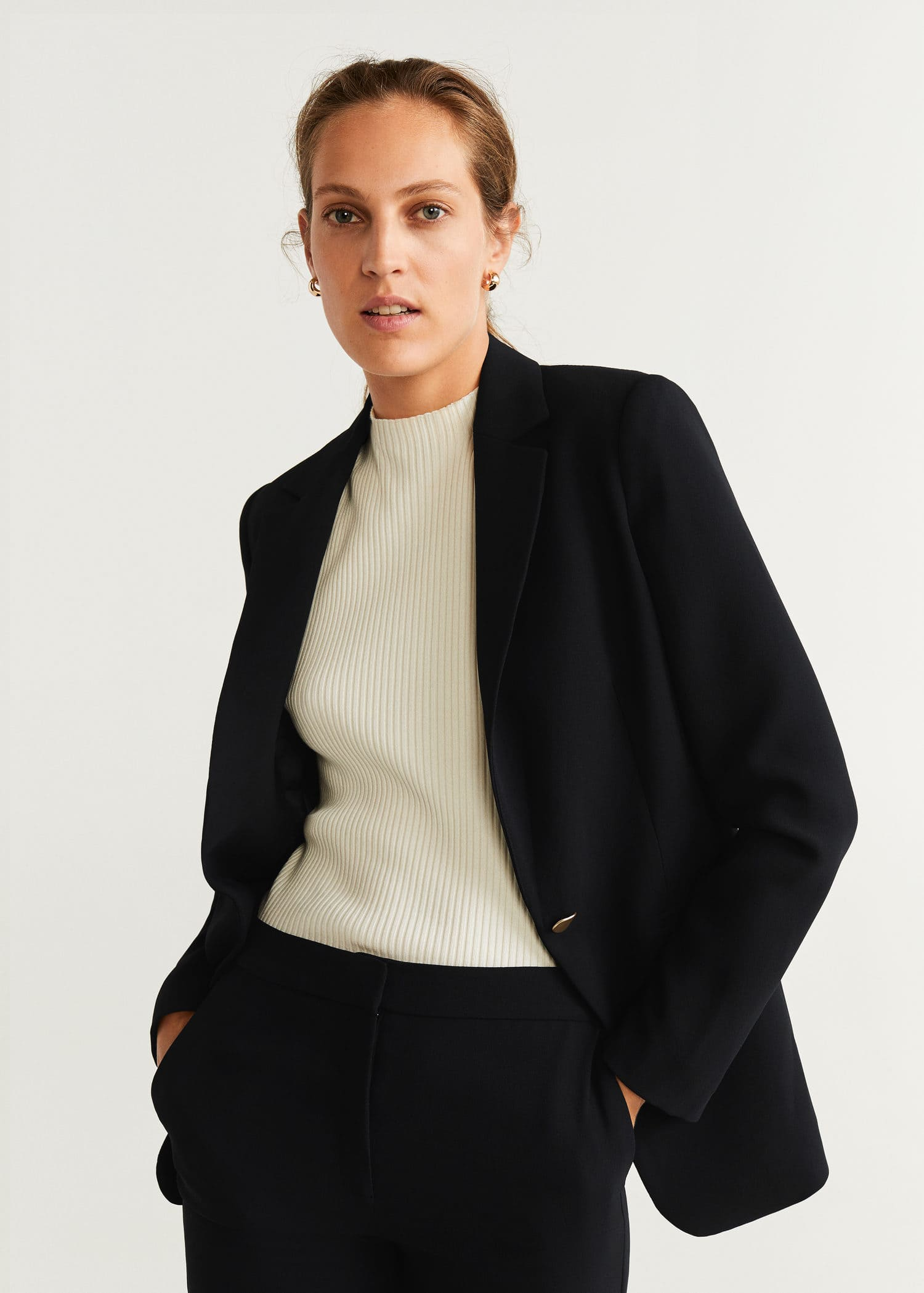Veste costume poches Femme   Mango France