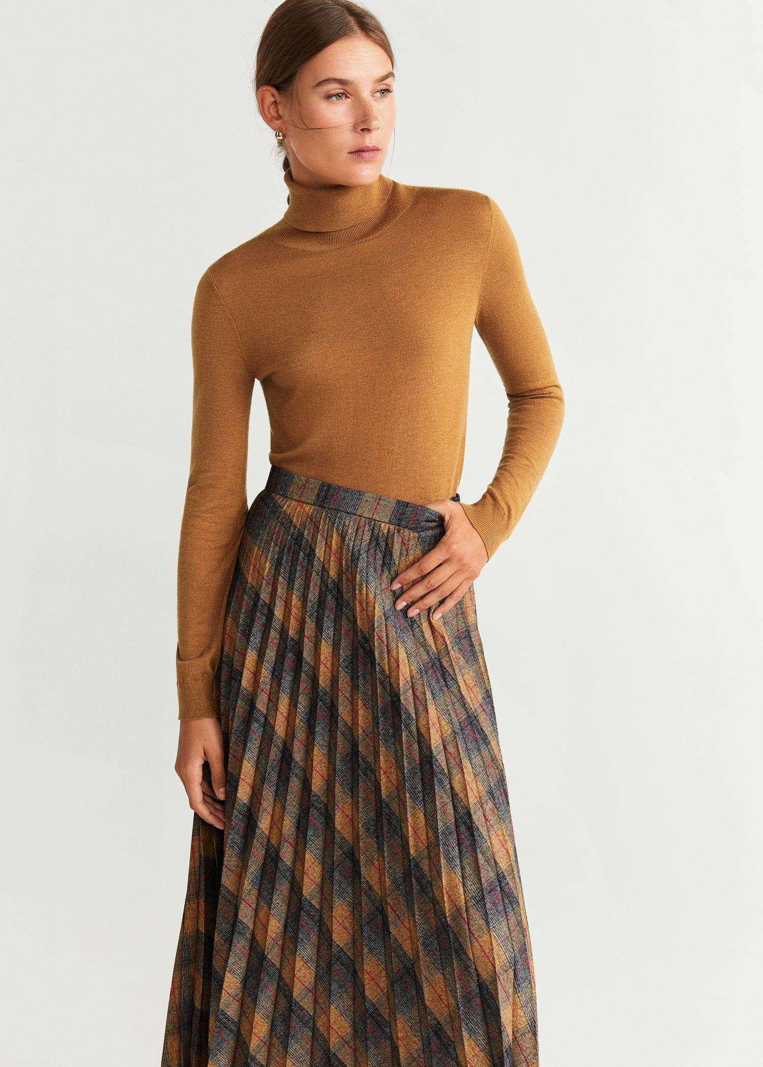 pull à col roulé femme mango
