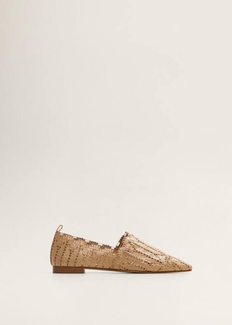2bce2d85d32d1 Plecione pantofle babusze - Artykuł bez modela/modelki