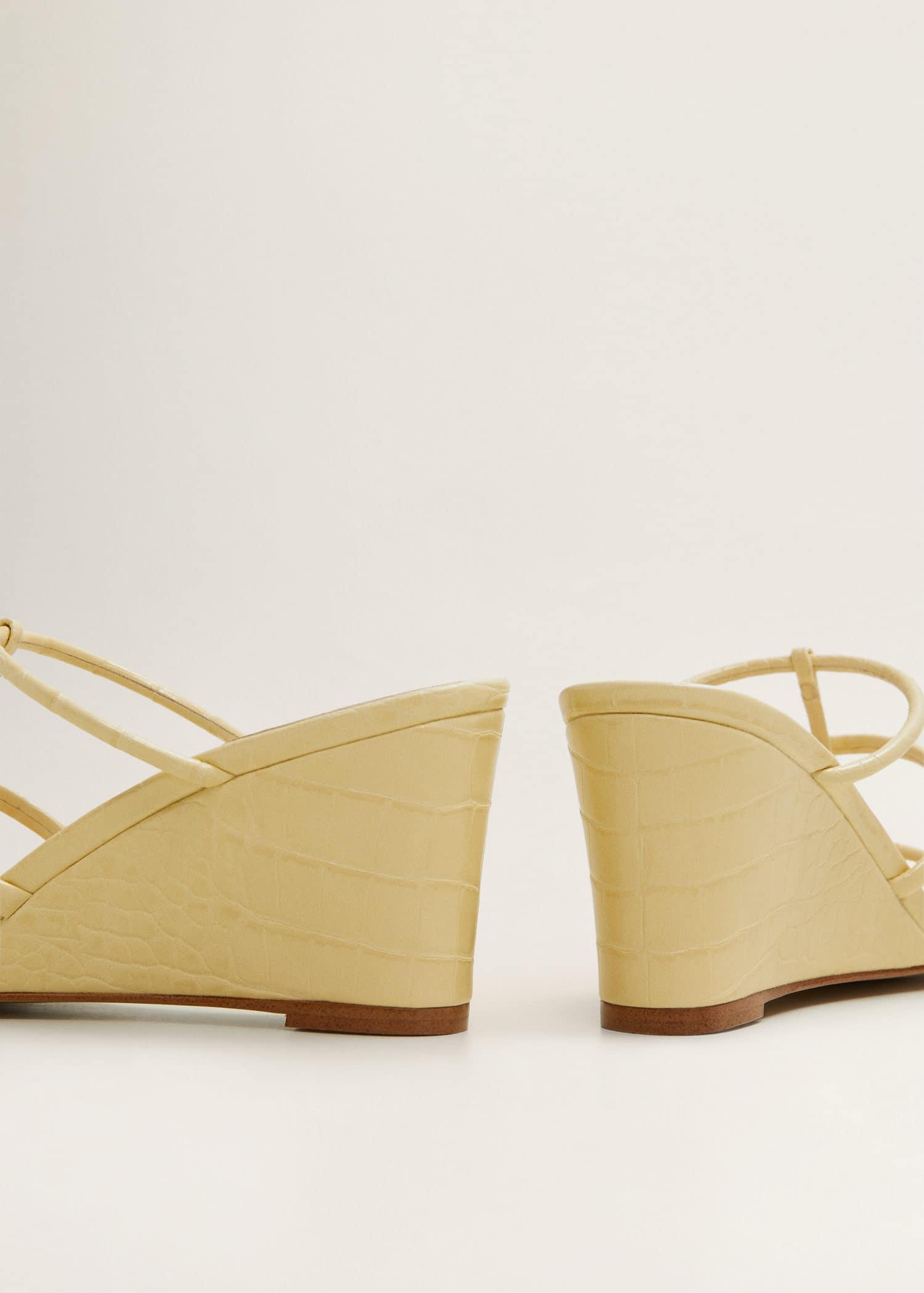Sandales lanières plateforme