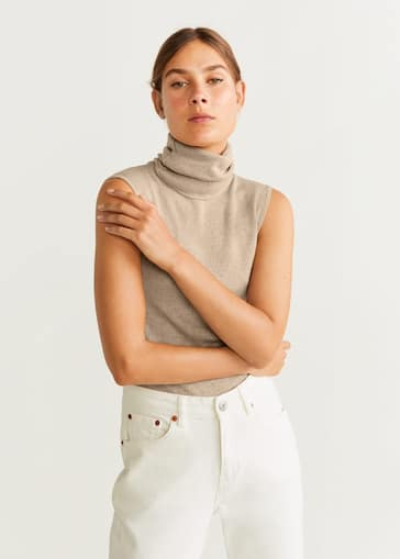 baby authorized site catch Turtleneck ribbed top