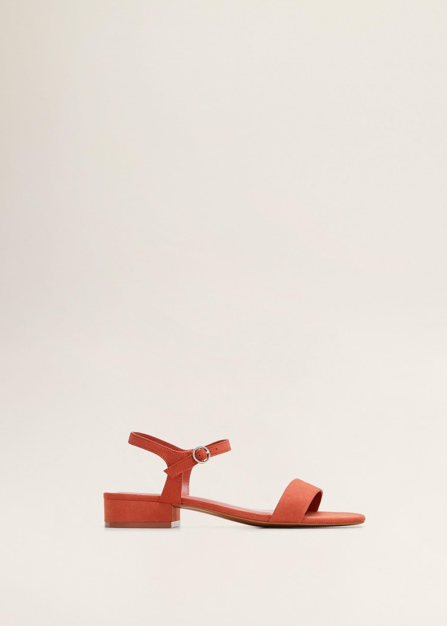 Sandales à bride de cheville Femme | Mango France