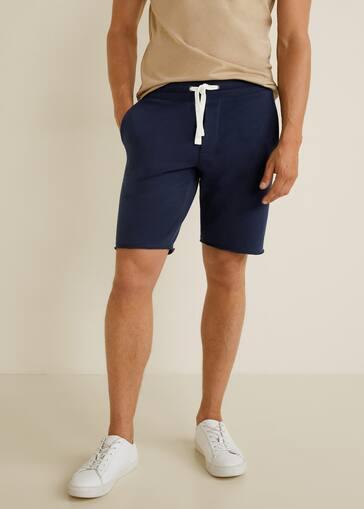 f264909545 Jogger cotton bermuda short - Men | Mango Man United Kingdom