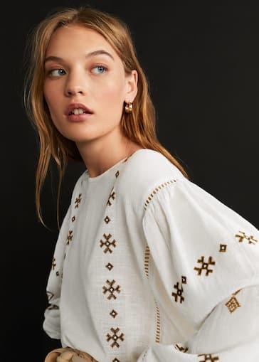 ea02bdf7e Camisas de Mujer 2019 | Mango España