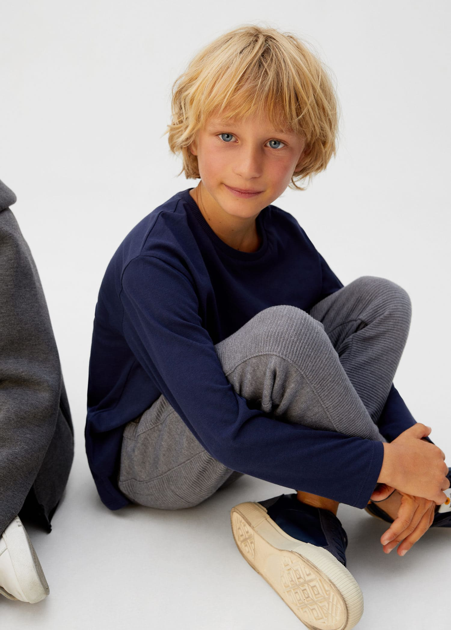 Pantalon jogging combiné Garçon   Mango Kids France