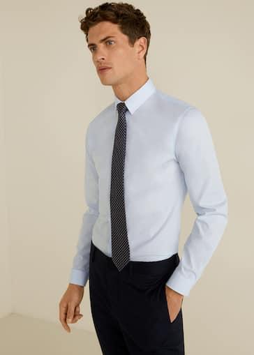 c896dd16d Camisa Tailored super slim-fit algodón - Plano medio