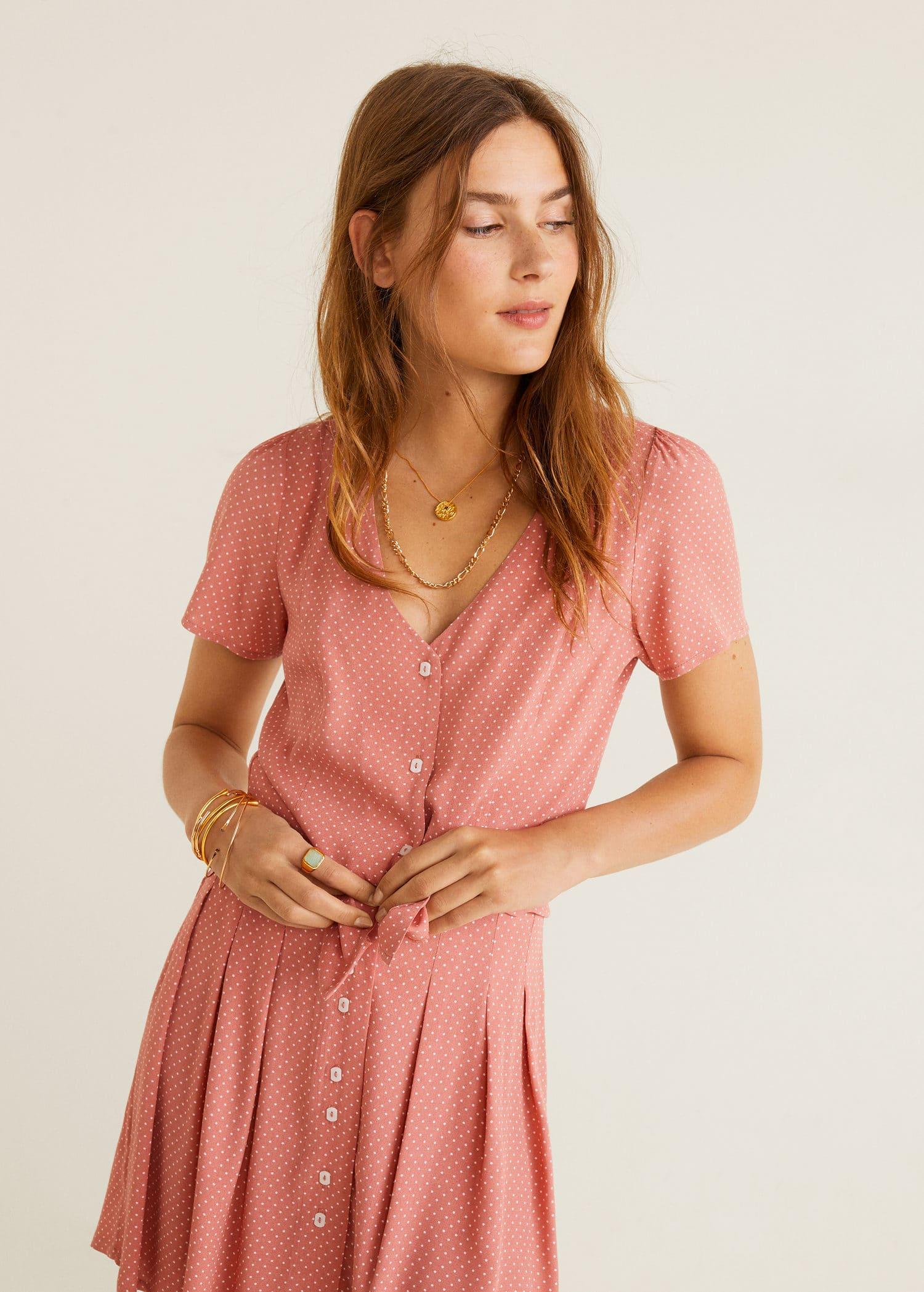 c53f36e1d940d2 Modalite - Mango Buttoned flowy blouse