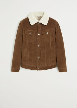Mango Corduroy trucker jacket